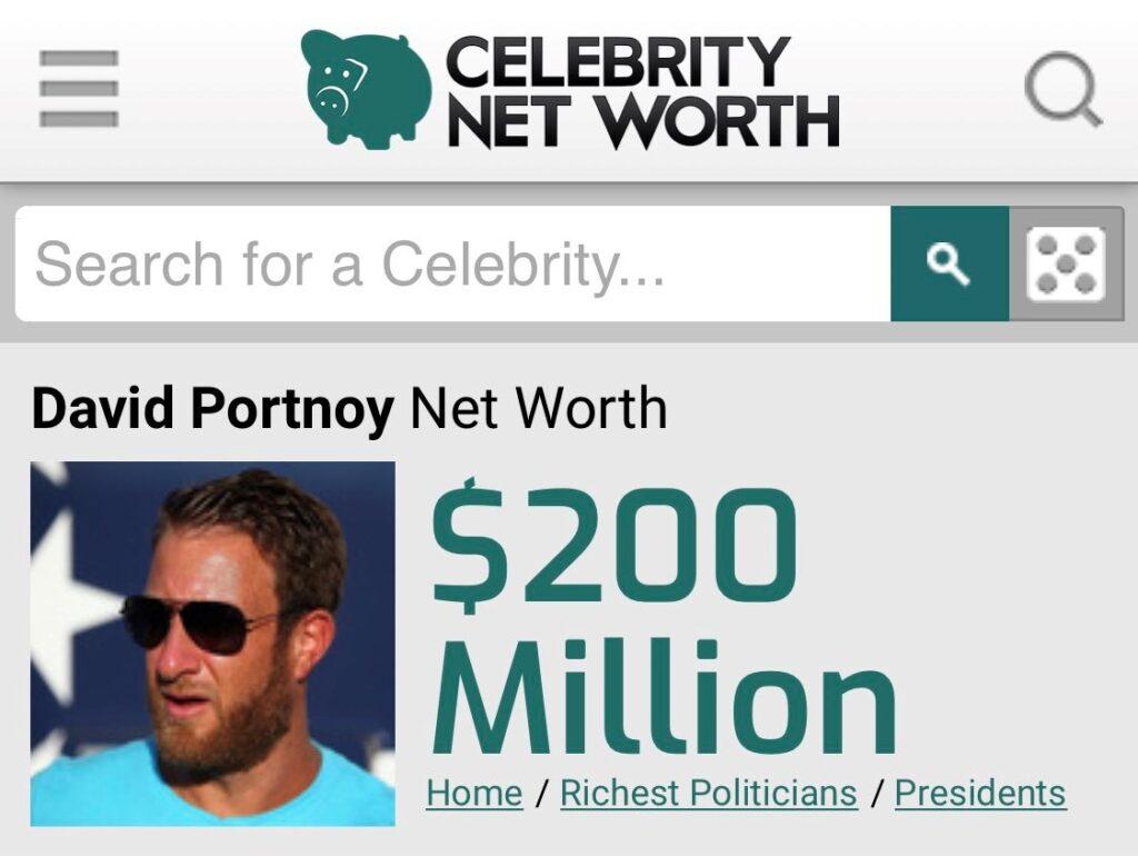200 Million Dollar Man Dave Portnoy